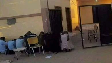 داعش ينشر صورة لأسرى تازربو- مواقع التواصل الاجتماعي