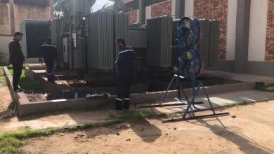 دائرة صيانة الكهرباء في ترهونة