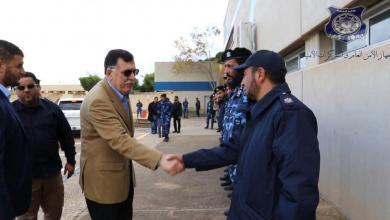 زيارة تفقدية لرئيس المجلس الرئاسي إلى مقر جهاز الأمن العام في طرابلس