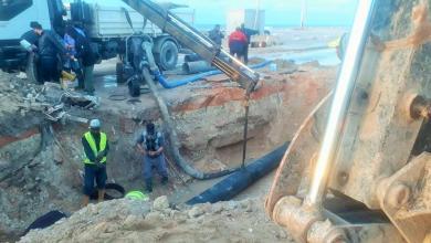 Photo of صيانة واسعة لشبكات الصرف الصحي في بنغازي
