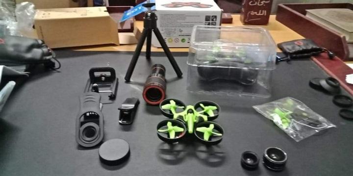 ضبط طائرات تجسس في مطار القاهرة