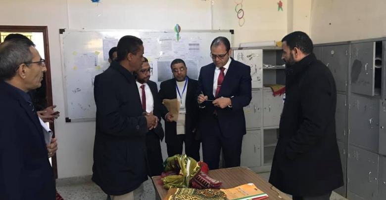 عثمان عبدالجليل - تعليمات بإجراء صيانة سريعة لمدارس في غدامس