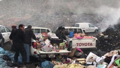 Photo of إعدام مواد غذائية في غريان