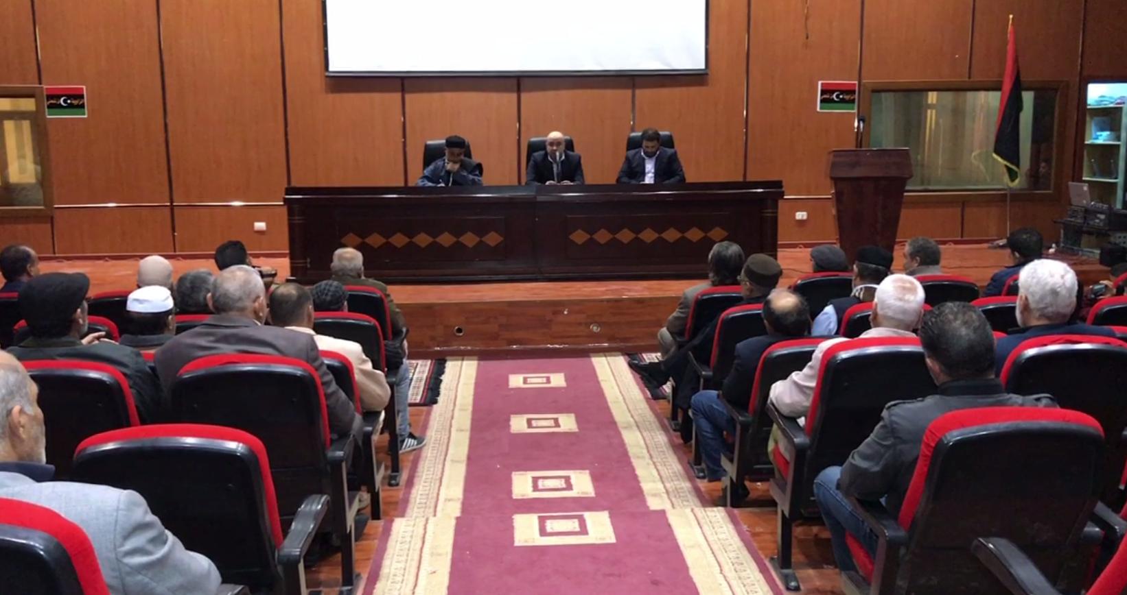 حفل تكريم في بيت الثقافة بالزاوية للشاعرين المشاركين في برنامج شاعر ليبيا