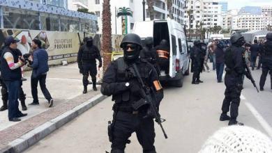 """صورة مداهمة """"خلية داعشية"""" في المغرب"""