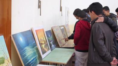 معرض متنقّل للفن التشكيلي في بني وليد
