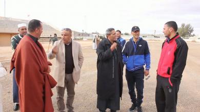 Photo of هيئة الشباب والرياضة ترسل لجنة لبني وليد