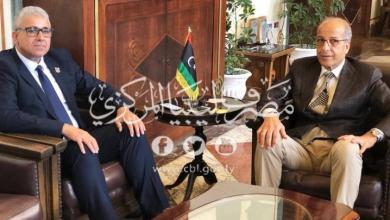 Photo of الكبير يلتقي باشاغا لبحث توفير متطلبات الأمن