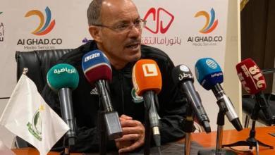 مدرب فريق الأهلي طرابلس جمال أبو نوارة