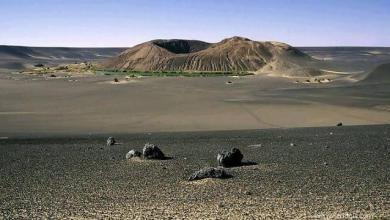 "Photo of ""واو الناموس"".. بقعة ليبية من سطح القمر"