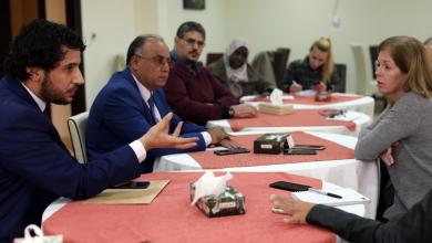 وليامز تبحث مع عدد من النواب آخر المستجدات في ليبيا
