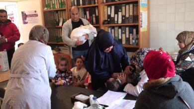 حملة التطعيمات في مراكز مدينة طبرق