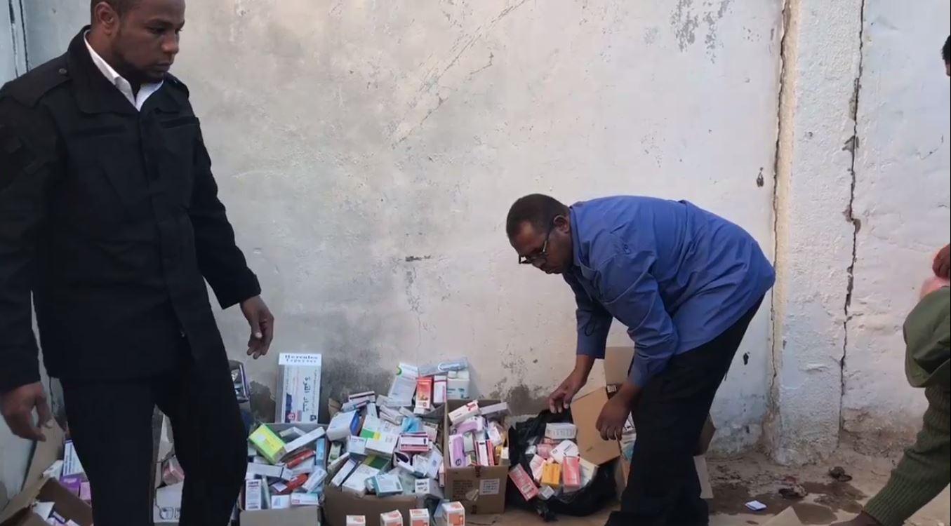 الحرس البلدي أوباري يضبط مواد فاسدة ومنتهية الصلاحية