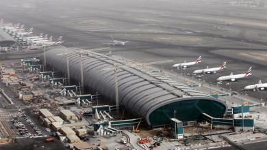 مطار دبي - ارشيفية