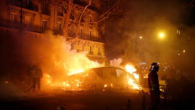 أعمال شغب في فرنسا
