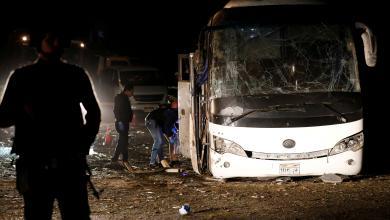 انفجار حافلة سياحية - القاهرة