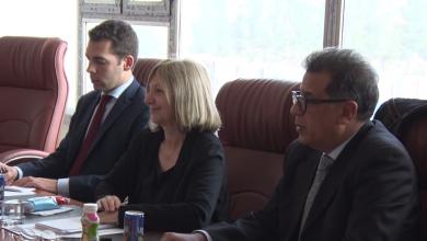Photo of سفيرة فرنسا تلتقي أعضاء بلدية الزنتان