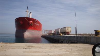 Photo of حركة تجارية نشطة في ميناء الخمس