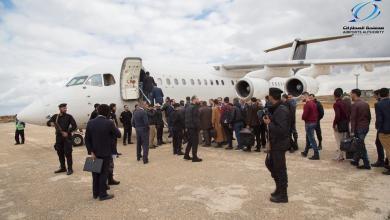 طيران المؤقتة توفد متدربين إلى مصر
