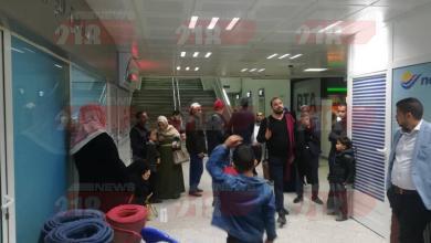 Photo of عائلات ليبية عالقة بمطار قرطاج