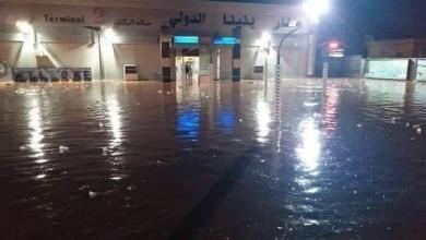 Photo of إغلاق طرق في بنغازي مع تجدد الهطول الغزير للأمطار