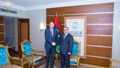 خالد المشري وألن بوغيا