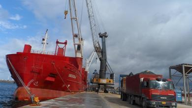 Photo of ميناء بنغازي يستقبل سفن شحن جديدة