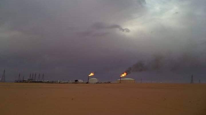 حقل الشرارة النفطي- إرشيفية