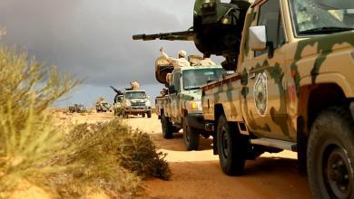 Photo of دوريات صحراوية لتأمين الهلال النفطي