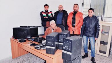 Photo of ضبط عصابة سرقت جامعة عمر المختار