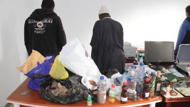 طلاسم وشعوذة خلال مداهمة منزل في بنغازي