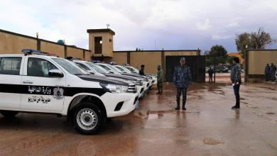 داخلية المؤقتة تدعم تازربو بالعتاد الأمني