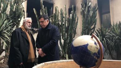 رئيس المجلس الرئاسي فائز السراج ووزير خارجيته محمد سيالة- هجوم الخارجية