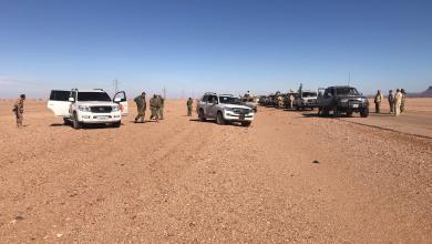 صورة كتيبة 411 تنفي سيطرتها على حقل الشرارة