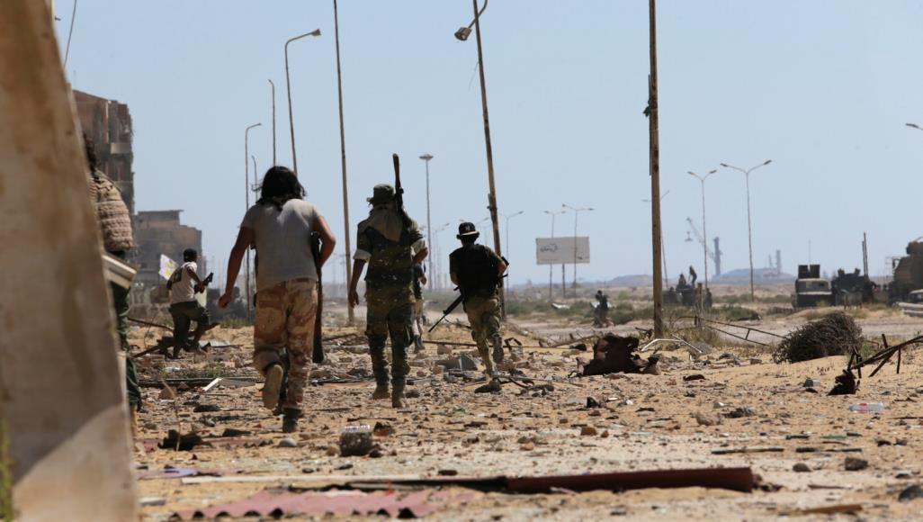 الجيش الوطني - تحرير مدينة بنغازي