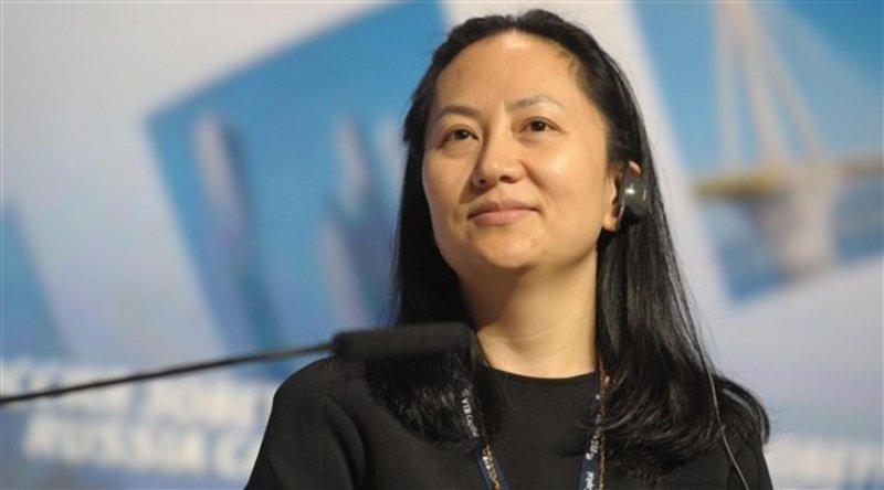 مديرة هواوي المالية في كندا منغ وانز