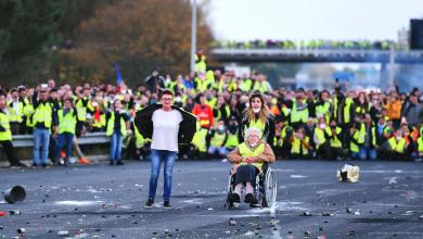 احتجاجات فرنسا- وكالات