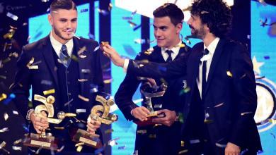 صورة لاعبو اليوفي يكتسحون جوائز أوسكار الكالشيو وإيكاردي الأفضل