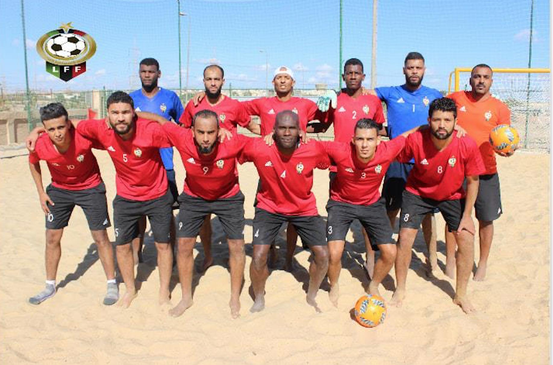 المنتخب الليبي لكرة الشاطئية