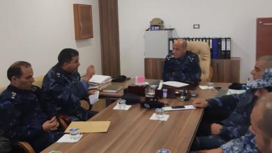 اجتماع الإدارة العامة للأمن المركزي في طرابلس