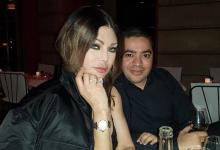 المصمم الليبي و العالمي نبيل يونس والفنانة هيفاء وهبي