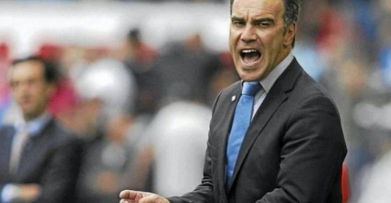 مدرب الأهلي المصري مارتن لاسارتي من أوروجواي