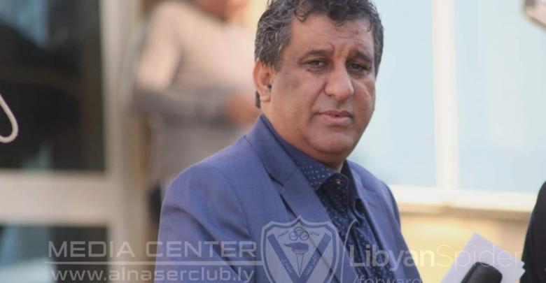 عضو مجلس إدارة نادي النصر عادل الأوجلي