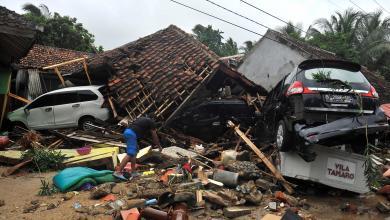 زلزال أندونسيا- إرشيفية