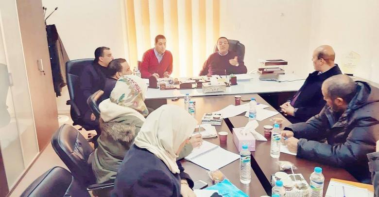 إدارة المريسة تُناقش تطوير مشاريع السكك الحديدية