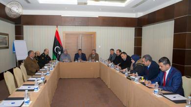 اجتماع اللجنة الاقتصادية بالمجلس الأعلى للدولة مع نقابة المخابز في ليبيا وجهاز الحرس البلدي