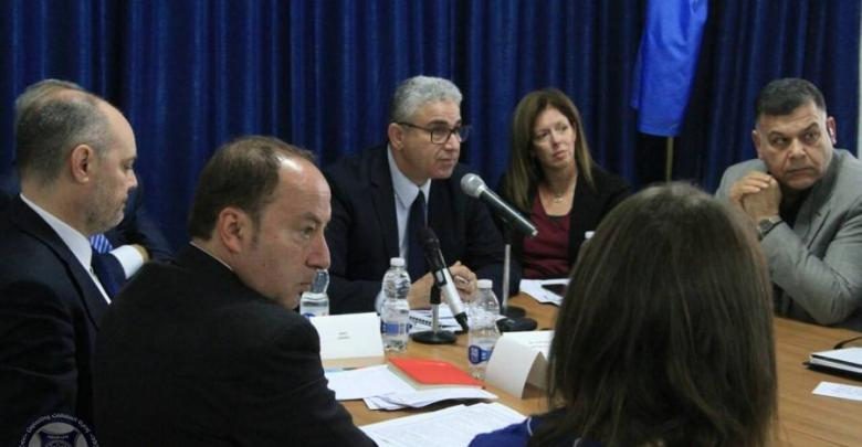 اجتماع باشاغا والبعثة الأممية وسفراء المجتمع الدولي - طرابلس