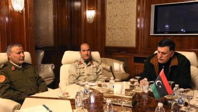 اجتماع بالمجلس الرئاسي حول الأوضاع الأمنية جنوب طرابلس