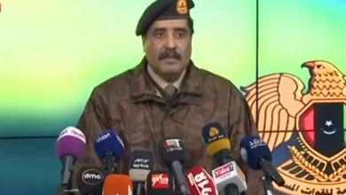 الناطق باسم القيادة العامة للجيش الوطني اللواء أحمد المسماري