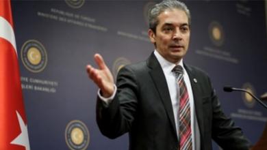 الناطق باسم وزارة الخارجية التركية حامي أقصوي